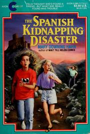 Cover of: The Spanish kidnapping disaster