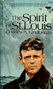 Cover of: The Spirit of St. Louis