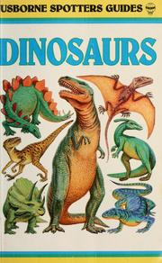 Cover of: Spotter's guide to dinosaurs & other prehistoric animals