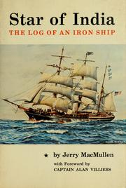 Cover of: Star of India: the log of an iron ship