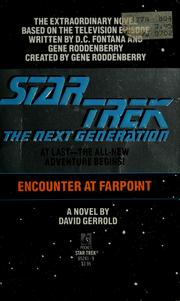 Cover of: Star trek, the next generation: Encounter at Farpoint : a novel