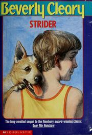 Cover of: Strider
