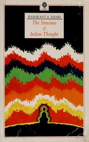 Cover of: The structure of Indian thought