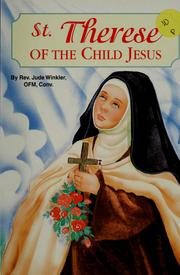 Cover of: St. Therese of the Child Jesus
