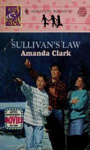 Cover of: Sullivan's law