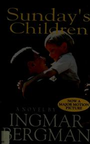 Cover of: Sunday's children