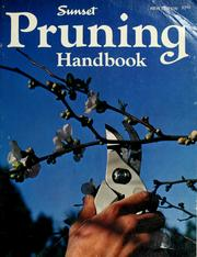 Cover of: Sunset pruning handbook