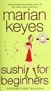 Cover of: Sushi for beginners