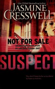 Cover of: Suspect