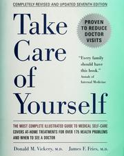 Cover of: Take care of yourself: the complete illustrated guide to medical self-care
