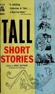Cover of: Tall short stories