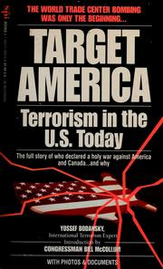 Cover of: Target America & the West: terrorism today