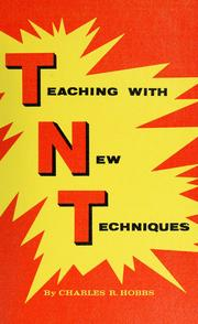 Cover of: Teaching with new techniques