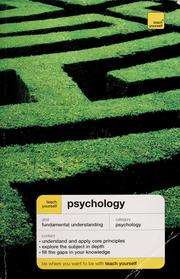Cover of: Teach yourself psychology