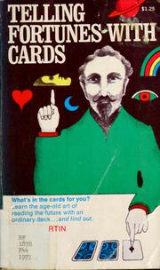 Cover of: Telling fortunes with cards
