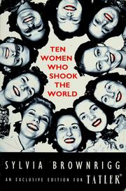 Cover of: Ten women who shook the world