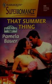 Cover of: That Summer Thing