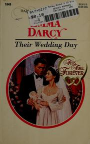 Cover of: Their wedding day