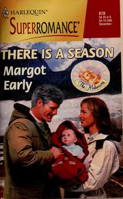 Cover of: There is a season
