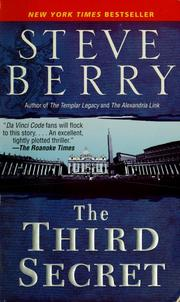 Cover of: The third secret: a novel