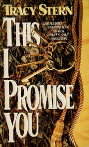Cover of: This I promise you