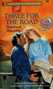 Cover of: Three for the road