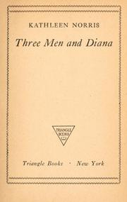 Cover of: Three men and Diana.
