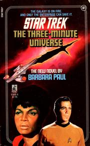 Cover of: The three-minute universe