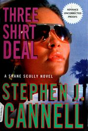 Cover of: Three shirt deal: a Shane Scully novel