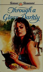 Cover of: Through a glass darkly