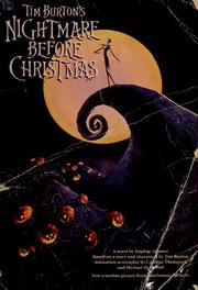 Cover of: Tim Burton's Nightmare before Christmas