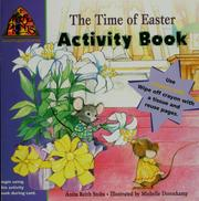 Cover of: The time of Easter activity book