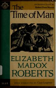 Cover of: The time of man: a novel
