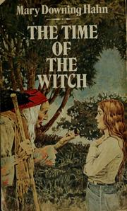 Cover of: The time of the witch
