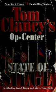 Cover of: Tom Clancy's op-center. State of siege