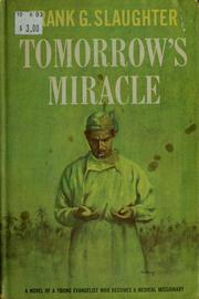 Cover of: Tomorrow's miracle