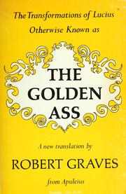 Cover of: The transformations of Lucius: otherwise known as The golden ass