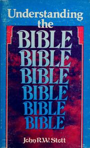 Cover of: Understanding the Bible