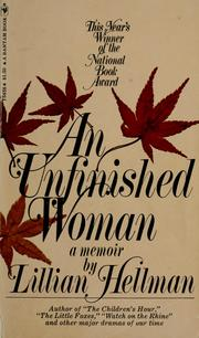 Cover of: An unfinished woman: a memoir.