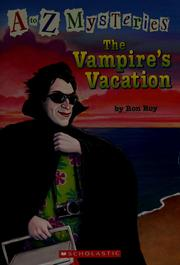 Cover of: The vampire's vacation