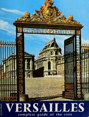 Cover of: Versailles in colour