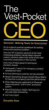 Cover of: Vest pocket ceo: decision-making tools for executives