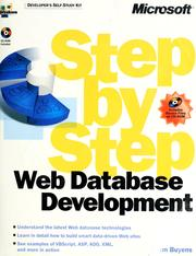Cover of: Web database development step by step