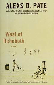 Cover of: West of Rehoboth: a novel