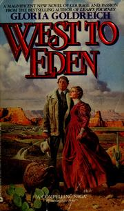 Cover of: West to Eden