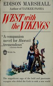 Cover of: West with the Vikings