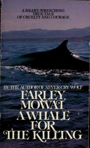 Cover of: A whale for the killing