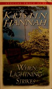 Cover of: When lightning strikes