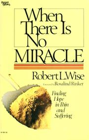 Cover of: When there is no miracle