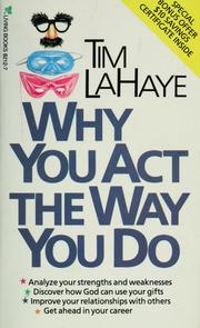 Cover of: Why you act the way you do